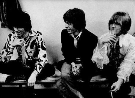 Brian Jones Keith Richards, Mick Jagger, and
