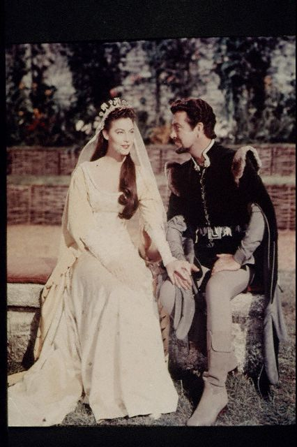 Guinevere Ava Gardner and Robert Taylor