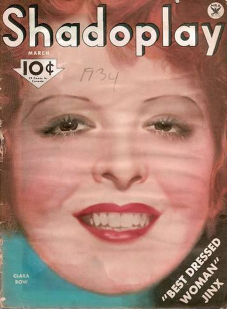 Clara Bow - Shadoplay Magazine [United States] (March 1934)