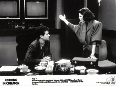 Tom Hanks , Sela Ward - NOTHING IN COMMON