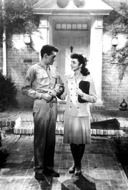 Jennifer Jones  and Robert Walker