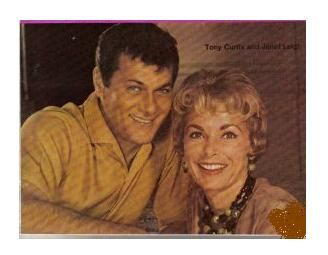 Tony Curtis Janet Leigh and