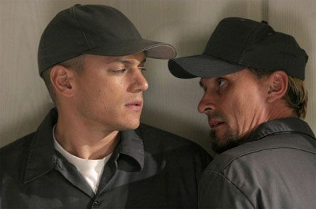 Robert Knepper , Wentworth Miller - Prison Break