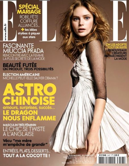 Juju Ivanyuk - Elle Magazine Cover [France] (19 January 2012)