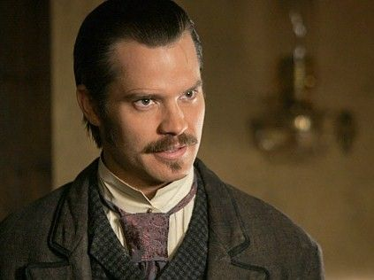 Timothy Olyphant  as Sheriff Seth Bullock on Deadwood