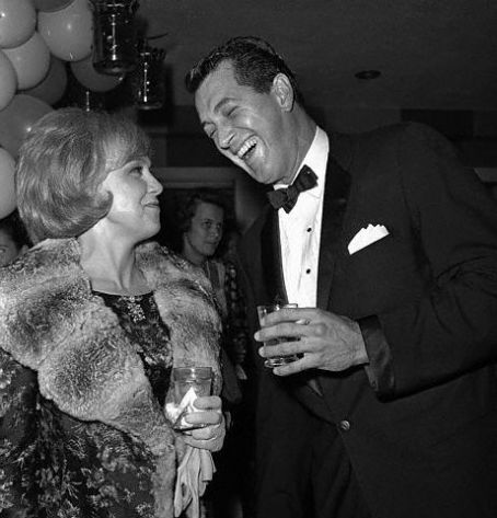 Edie Adams  and Rock Hudson