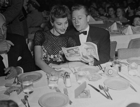 Ava Gardner and Mickey Rooney