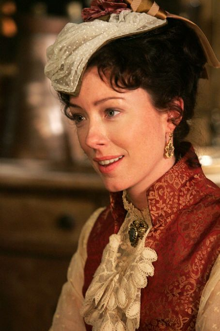 Molly Parker  as Alma Garret Ellsworth on Deadwood