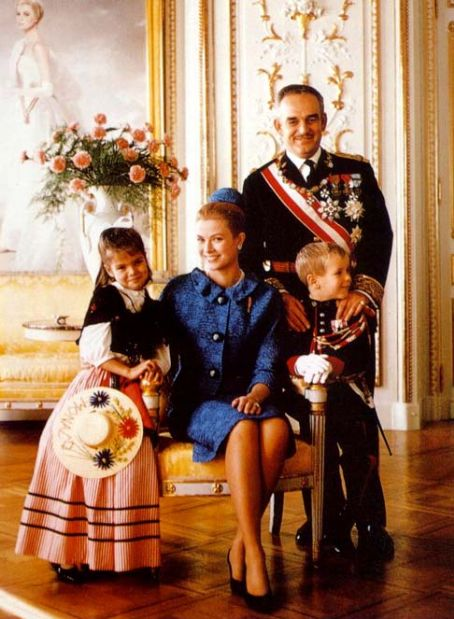Prince Rainier of Monaco Grace Kelly and