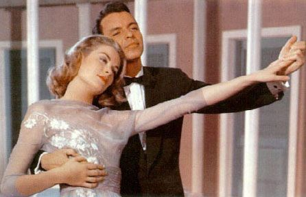 Frank Sinatra and Grace Kelly