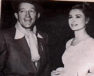 Bing Crosby Grace Kelly and
