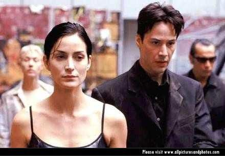 The Matrix Keanu Reeves, Carrie Ann Moss - Matrix (1999)