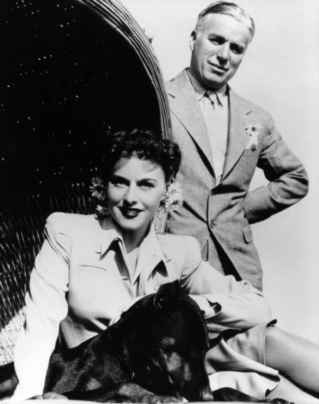 Charles Chaplin Paulette Goddard and Charlie Chaplin