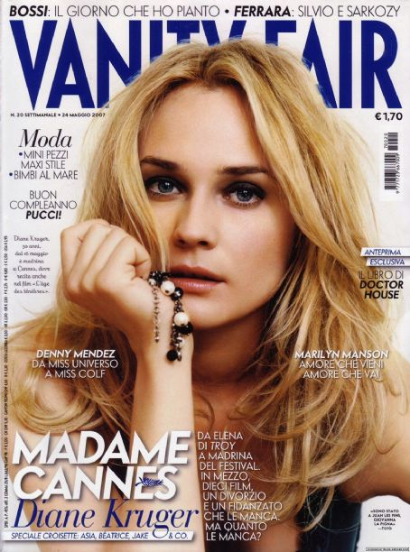 Diane Kruger - Vanity Fair Magazine Cover [Italy] (24 May 2007)