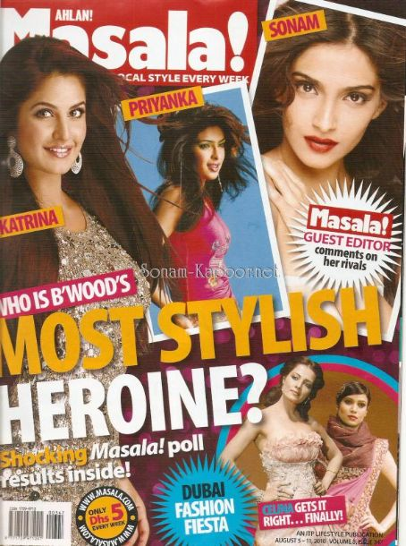 Priyanka Chopra - Ahlan! Masala Magazine [India] (11 August 2010)