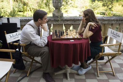 The Black Dahlia Josh Hartnett and Hilary Swank