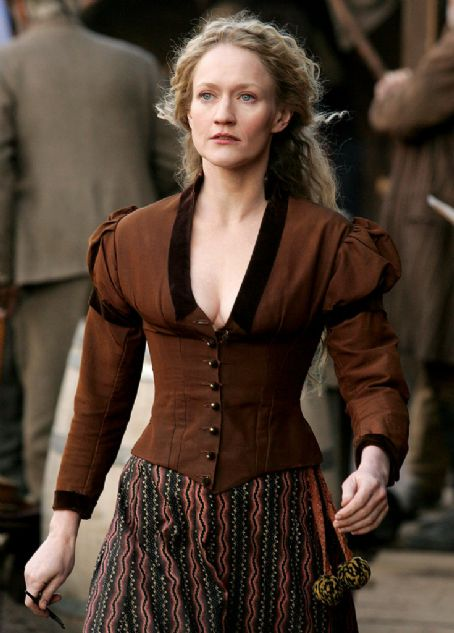 Paula Malcomson  as Trixie on 'Deadwood'