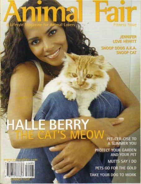 Halle Berry - Animal Fair Magazine Cover [United States] (June 2004)