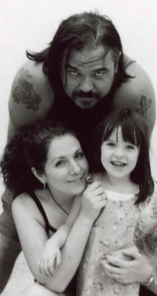 W. Earl Brown  and Carrie Pascall and their daughter Anna