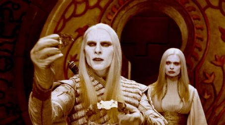 Anna Walton Luke Goss as Prince Nuada and  as Princess Nuala in Universal Pictures' Hellboy 2: The Golden Army.
