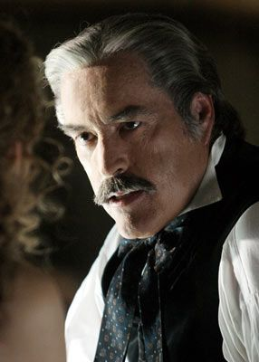 Powers Boothe as Cy Toliver on 'Deadwood'