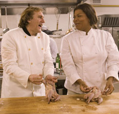 Gérard Depardieu - Gerard Depardieu and Queen Latifah play together in Last Holiday - 2006