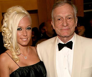 Kendra Wilkinson Hugh Hefner and