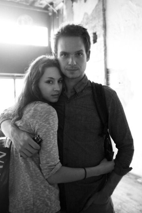 Patrick J. Adams and Troian Bellisario