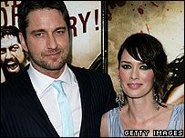 Lena Headey Gerard Butler and