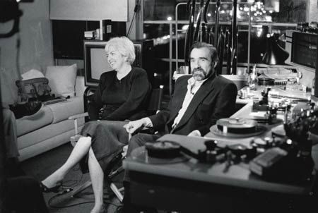Martin Scorsese Barbara De Fina and