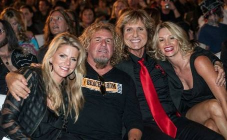 David Coverdale and Cindy Coverdale Sammy & Kari with David & Cindy