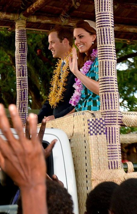 Prince William Windsor - Prince William and Kate Middleton in the Solomon Islands (September 16)