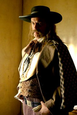 Keith Carradine  as Wild Bill Hickok on 'Deadwood'