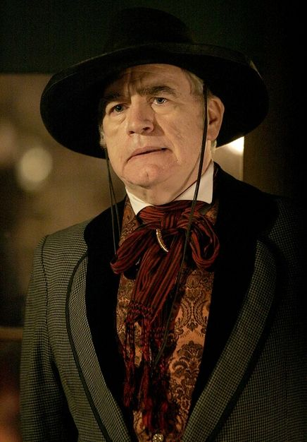 Brian Cox  on 'Deadwood'