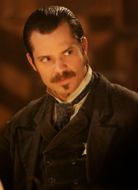 Timothy Olyphant  on 'Deadwood'