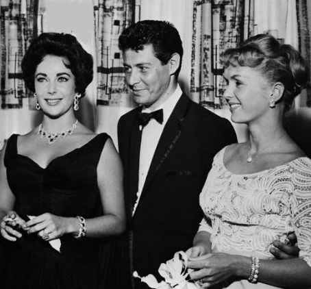 Debbie Reynolds Eddie Fisher and Elizabeth Taylor