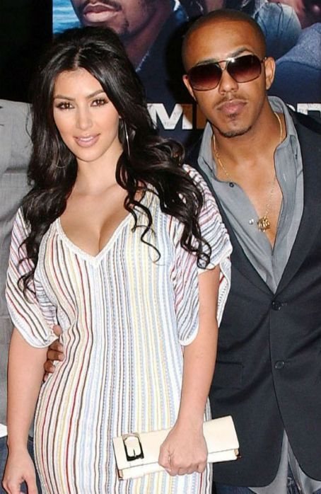 Kim Kardashian and Marques Houston