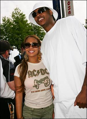 La La Anthony Carmelo Anthony and Alani Vasquez