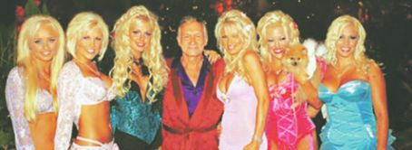 Hugh Hefner and Dalene Kurtis