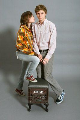 Juno Ellen Page and Michael Cera