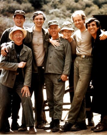 Mike Farrell  - cast of MASH