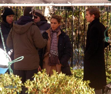 Awake Jessica Alba, On The Set Of