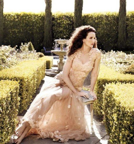 Andie MacDowell Covers Town & Country October 2012