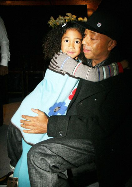 Kimora Lee Simmons Kimora Simmons and Russell Simmons