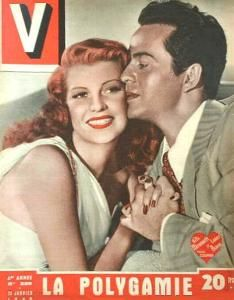 Rita Hayworth - V Magazine [France] (30 November 1949)