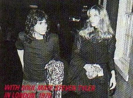 Steven Tyler Bebe Buell and