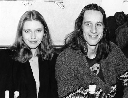 Todd Rundgren Bebe Buell and , 1976