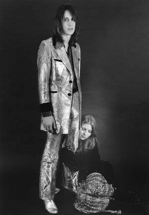 Todd Rundgren Bebe Buell and  Spring 1972