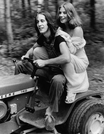 Bebe Buell and Todd Rundgren  Woodstok 1976