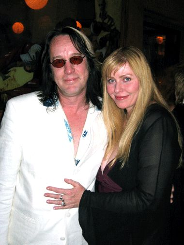 Bebe Buell and Todd Rundgren  2003 at Liv's wedding